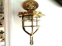 nautical wall sconce plug in brown lights outdoor sconces indoor uk ical brass