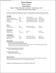 Resume Templates Open Office Free Download Resume Openoffice