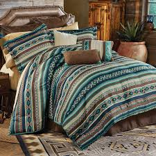 western bedding sets king size turquoise river bed set lone star western decor
