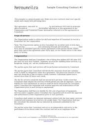 Consultant Contract Template 24 Consulting Contract Forms PDF DOC 16