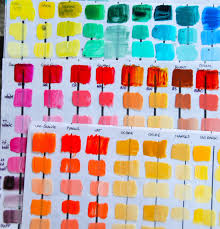 How To Mix Acrylic Paint Colors Chart Mixing Paint Mixing Color Acrylic Paint Art Tutorial In