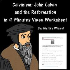 Martin Luther Vs John Calvin Venn Diagram Calvinism John Calvin And The Reformation In 4 Minutes