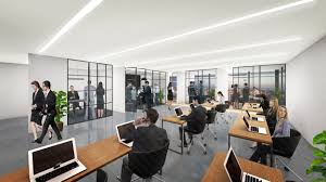 architectural interior renderings. Office Interior Rendering Architectural Renderings