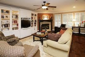built ins next to corner fireplace ideas