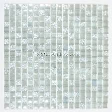 clear glass tile glass tile 5 8 x 5 8 glass tile mosaic clear rippled glossy clear glass tile