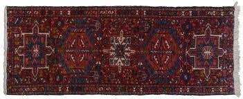 2x5 persian karaja red oriental rug runner 034842