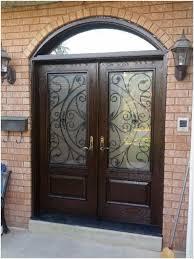 fiberglass double front doors unique inspiring fiberglass double entry doors with transom ideas image