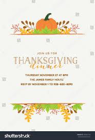 013 Free Thanksgiving Invitation Templates Template Ideas