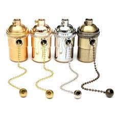pull chain lamp socket top quality solid brass ceiling light socket holder pull chain vintage lamp