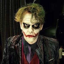 joker make up for helsinki event make up photo riina laine