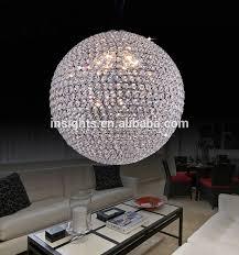 chic round crystal ball chandelier luxury round crystal ball hanging pendant chandelier