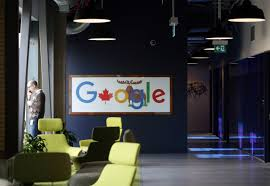 google office munich set. An Employee Talks On A Mobile Phone At Google Canada\u0027s Engineering Headquarters In Waterloo, Ontario Office Munich Set F