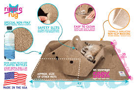 it s the flippity floppity rug that cats kittens love