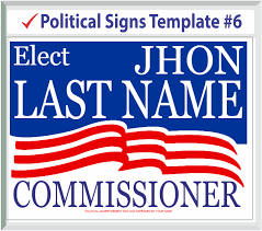 Delivery Signs Llc Political Signs Templates