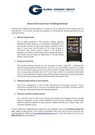 Vending Machine Revenue Enchanting How To Increase Your Vending Revenue