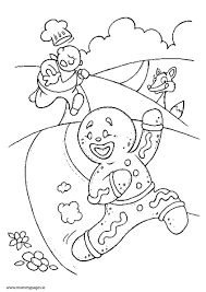 Small Picture The Gingerbread Man Colouring Page MummyPagesMummyPagesie
