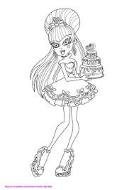 Monster High Coloring Pages Frankie Stein Sweet 1600 Colouring ...