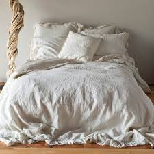 stonewashed linen duvet cover