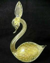 Pin by Myrna Burke on I have this in 2020 | Bubble art, Swan figurine, Gold  metal