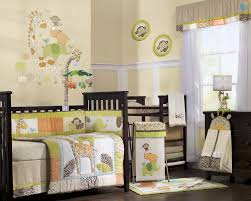 ... Fair Image Of Baby Nursery Room Decoration With Jungle Themed Baby  Bedding : Exciting Picture Of ...