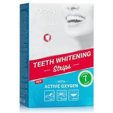 Отбеливающие зубные <b>пасты Global White</b> для всех типов зубов