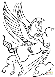Small Picture Pegasus coloring pages Free Coloring Pages