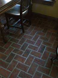 Kitchens With Tile Floors Kitchen Brick Flooring News From Inglenook Tile