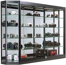 wall mounted jewelry cases tempered