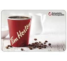 tim hortons gift card 25 50 or 100 email delivery 1 of 1