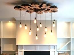 diy rustic chandelier edge olive wood chandelier rustic and custom made extra large live edge olive