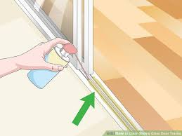 best lubricant for sliding glass doors new 3 ways to clean sliding glass door tracks wikihow