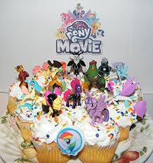 My Little Pony The Movie Deluxe Mini Cake Toppers Cupcake