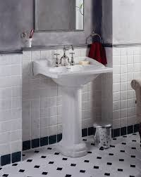 classy white and unique pedestal sink bathroom design ideas traditional padestal sink bathroom with classy
