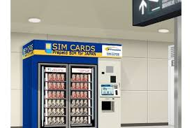 Playing Card Vending Machine Mesmerizing SIM Card Vending Machines At Narita Japan Travel
