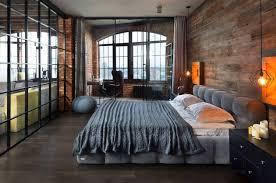 industrial bedroom design. Delighful Industrial Industrial Style Bedroom Design Ideas021 Kindesign Throughout U