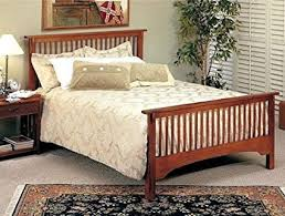 Amazon.com - Mission Style Oak Finish Queen Size Bed Headboard and ...