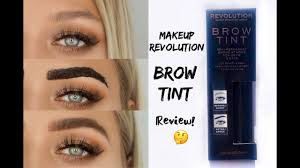 brow tint tattoo makeup revolution review