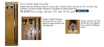 chrome sink legs. Fine Chrome In Addition To The Franklin Brass Chrome Sink Legs  And Chrome Sink Legs