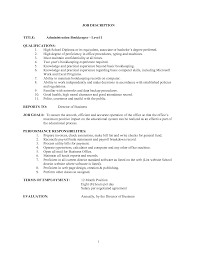 Bookkeeper Job Description bookkeeper job description salary SampleBusinessResume 1