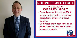 Wesley Holt for Greene County Sheriff - Community | Facebook