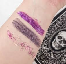 here s a swatch of the ready items from this month s box medusa s make up