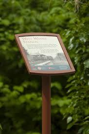 Two New Radnor Trail Interpretive Signs Installed Radnor