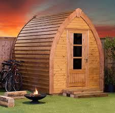 office garden pod. 6 X 8 BSW Garden Office Pod With Single Door