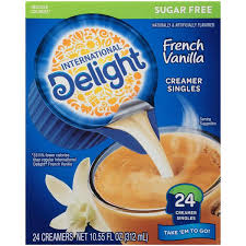 Coffee creamer is usually heavily processed and loaded with added sugar. International Delight Mini I D S Sugar Free French Vanilla Single Serve Non Dairy Creamers 24ct Hy Vee Aisles Online Grocery Shopping