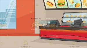 inside fast food restaurants. Contemporary Fast Inside A Fast Food Restaurant Background For Restaurants I