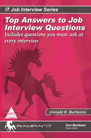 Job Interview Books Books Top Answers Job Interview Questions Includes Questions You
