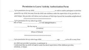 Free 10 Leave Authorization Form Sample In Sample Example