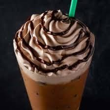 iced molten chocolate latte