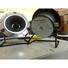 Loa Treble Pioneer P8801 mặt kim loại kèm chân karaoke giảm chỉ còn 441,000  đ
