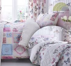 vintage style bedspread curtains twin pack duvet covers